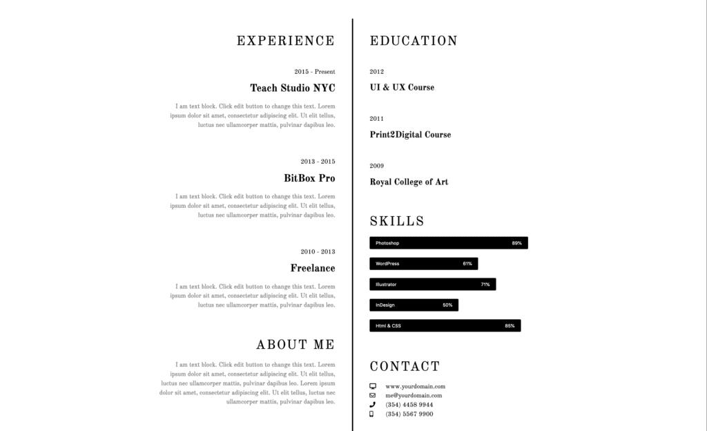 website styles