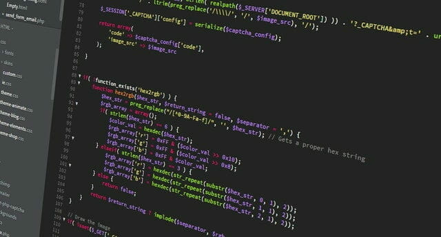 Website development code